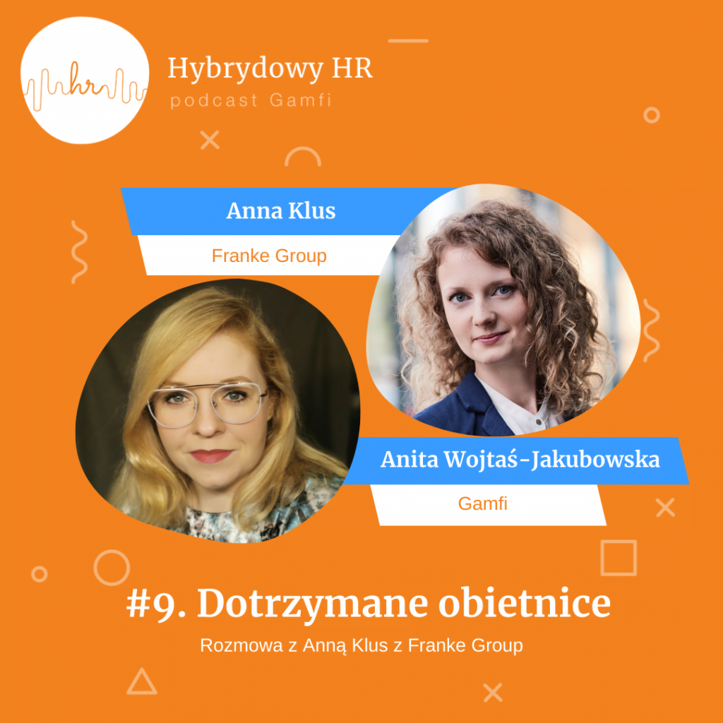 "Anna Klus z Franke Group | Podcast Gamfi ""Hybrydowy HR"""