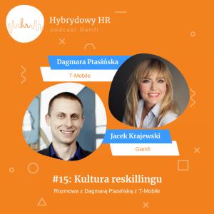 Podcast Hybrydowy HR: rozmowa z Dagmarą Ptasińską z T-Mobile
